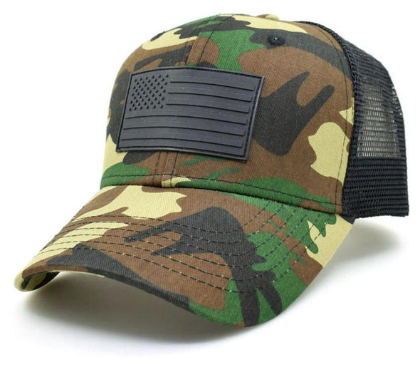 American Camo Trucker Hat-All American hat-The Exceptional Store