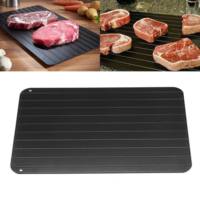Rapid Defrost Magic Tray-quick miracle thaw magic defrost wonder meat tray-The Exceptional Store