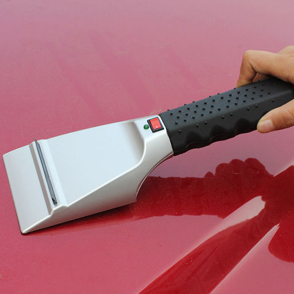Electric Heated Ice Scraper-windshield snow ice scrapper 12 volt winter tool-The Exceptional Store