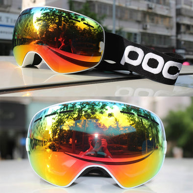Professional Snowboard Ski Goggles-snow goggle winter eye wear skiing snowboarding snowmobile sports anti fog-The Exceptional Store