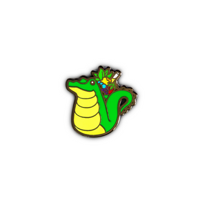 Quirky Tiki Series // Alligator Hard Enamel Pin