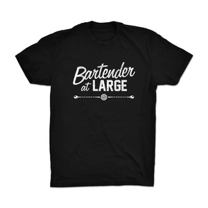 Bartender at Large Original Logo T-Shirt