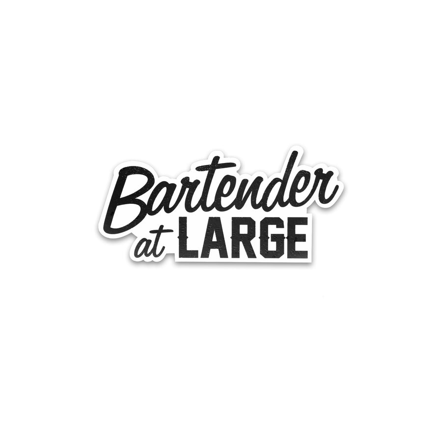 Bartender at Large Stickers