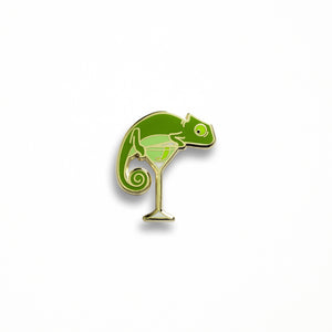 Chameleon's Last Word Pin