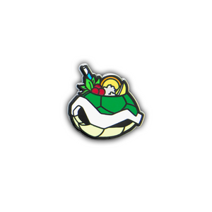 Quirky Tiki Series // Turtle Shell Hard Enamel Pin