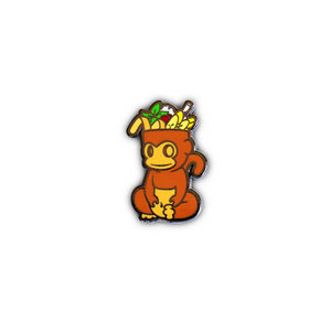 Quirky Tiki Series // Monkey Hard Enamel Pin