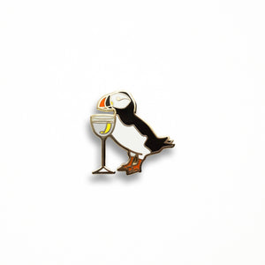 Puffin Martini Pin