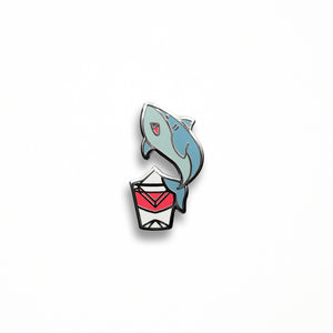 Sharky Vermouth Pin