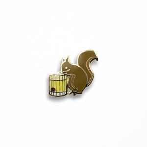 Nutty Squirrel Pin
