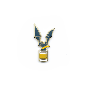 Batty Old Fashioned Pin