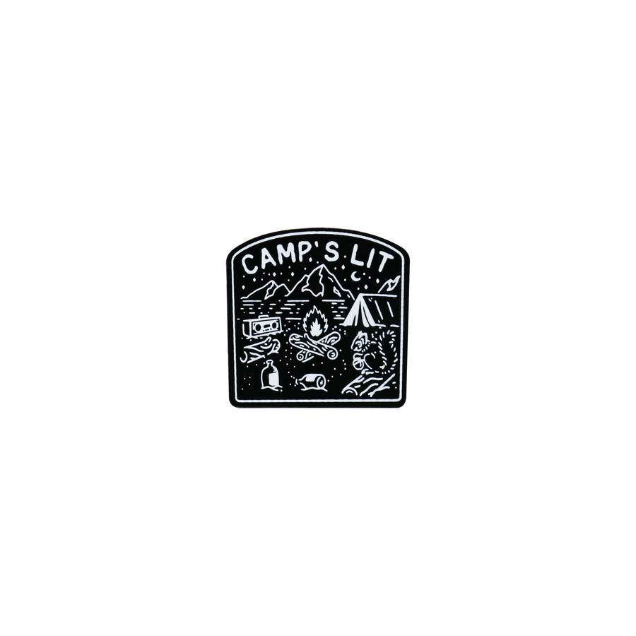 Camp Badges Pin Set