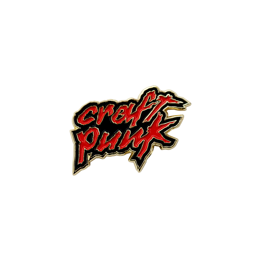 Craft Punk Pin