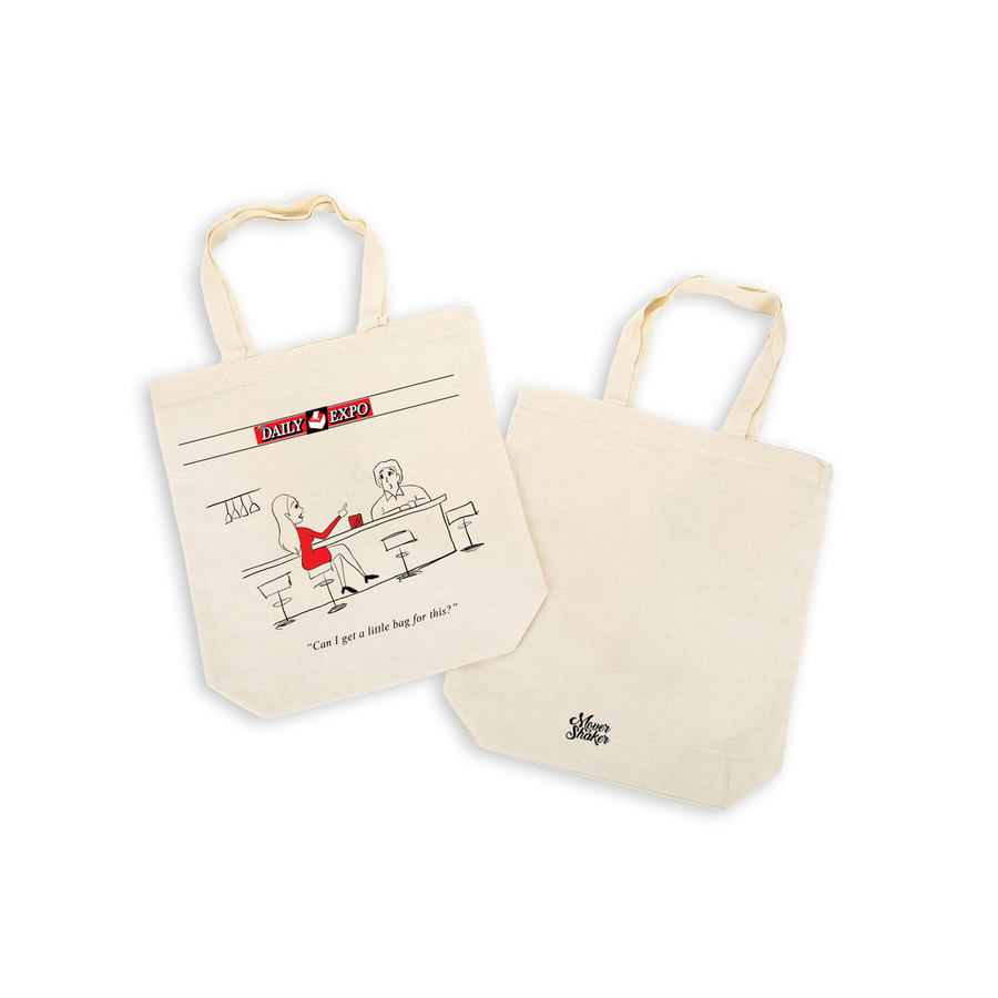 The Daily Expo Canvas Tote