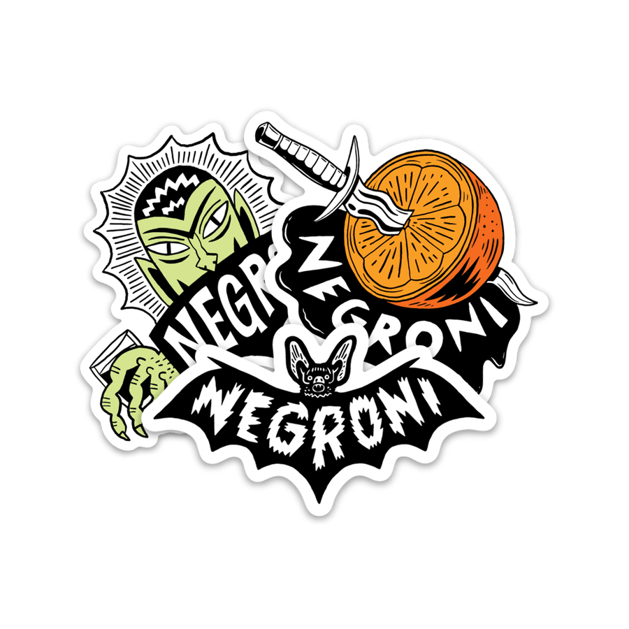 Negroni Collection Sticker Pack