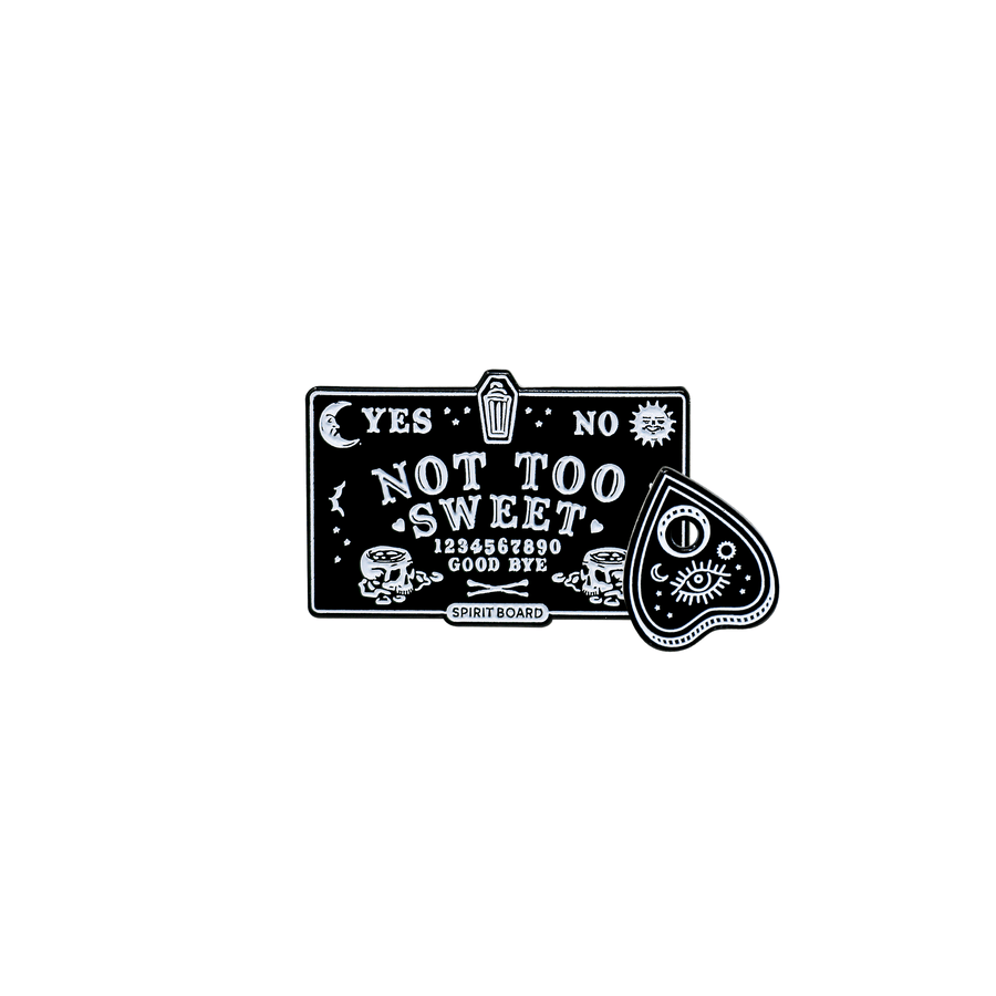 Not Too Sweet Spirit Board Pin Set