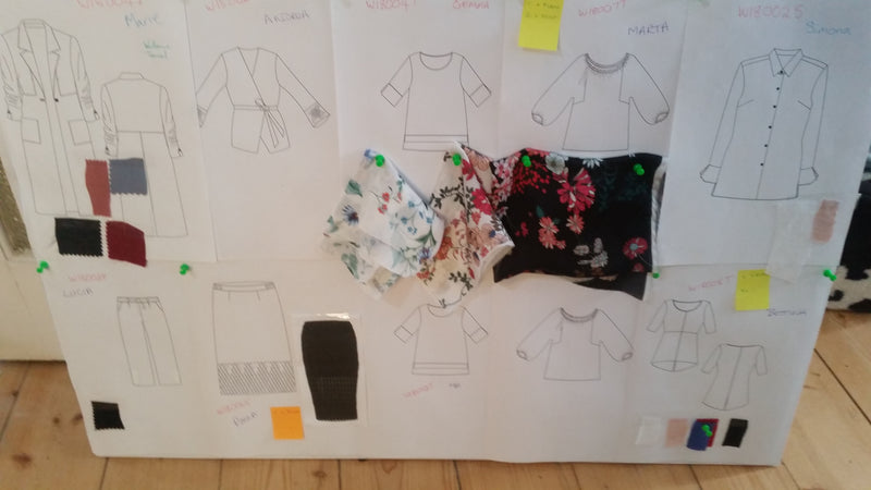 Behind the Scenes - The Creative process - a collection for Curvy Women
