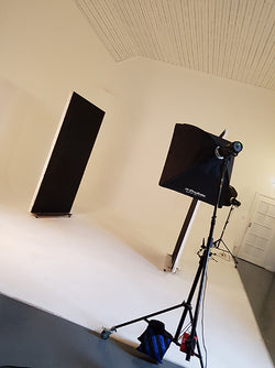Behind the Scenes - In the Studio for our Plus Size Fashion shoot