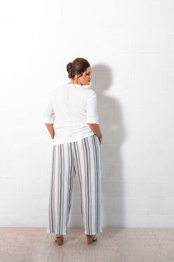 SAFIA - ELASTIC WAIST PANTS FOR CURVY WOMEN