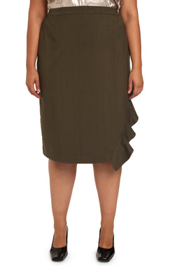 Buy plus-size ASSYM Skirt: Assym Asymmetrical Skirt