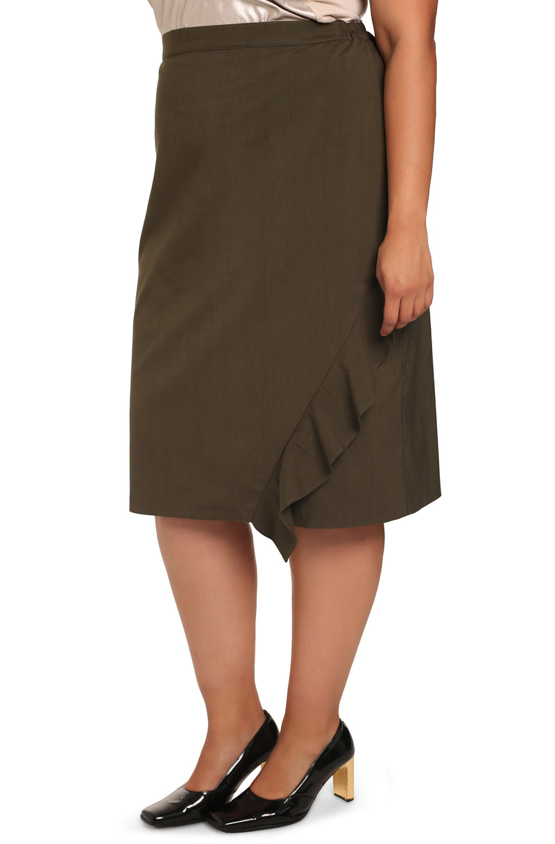 Buy plus-size clothes: Assym Asymmetrical Skirt