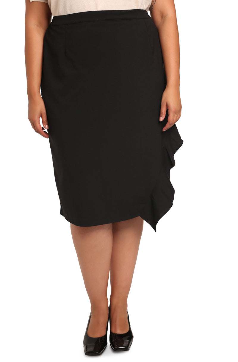 Plus-size asymmetrical skirts: ASSYM skirt
