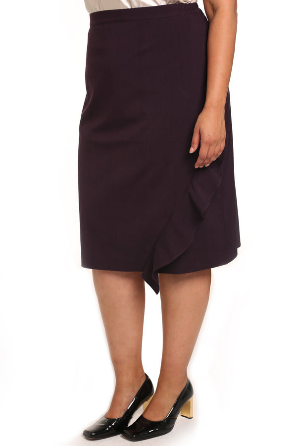 Plus-size asymmetrical skirts: Assym Asymmetrical Skirt