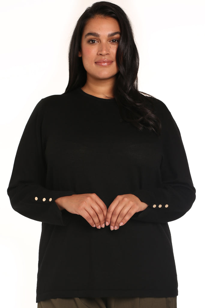 PLUS-SIZE CLOTHING - DOLCE CREW NECK JUMPER