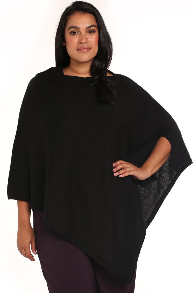 GHITA PONCHO FOR CURVY WOMEN