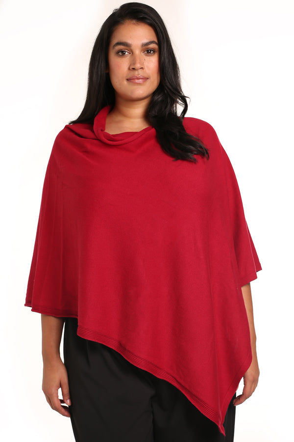 PLUS-SIZE BOUTIQUE FASHION - GHITA PONCHO