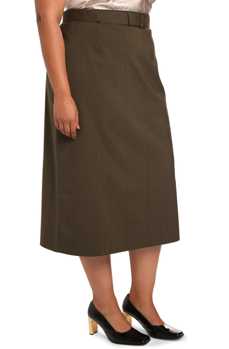 Plus-size designer fashion: Lisabetta Classic Skirt