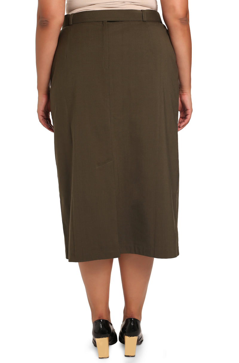 Women's plus size designer clothing: Lisabetta Classic Skirt