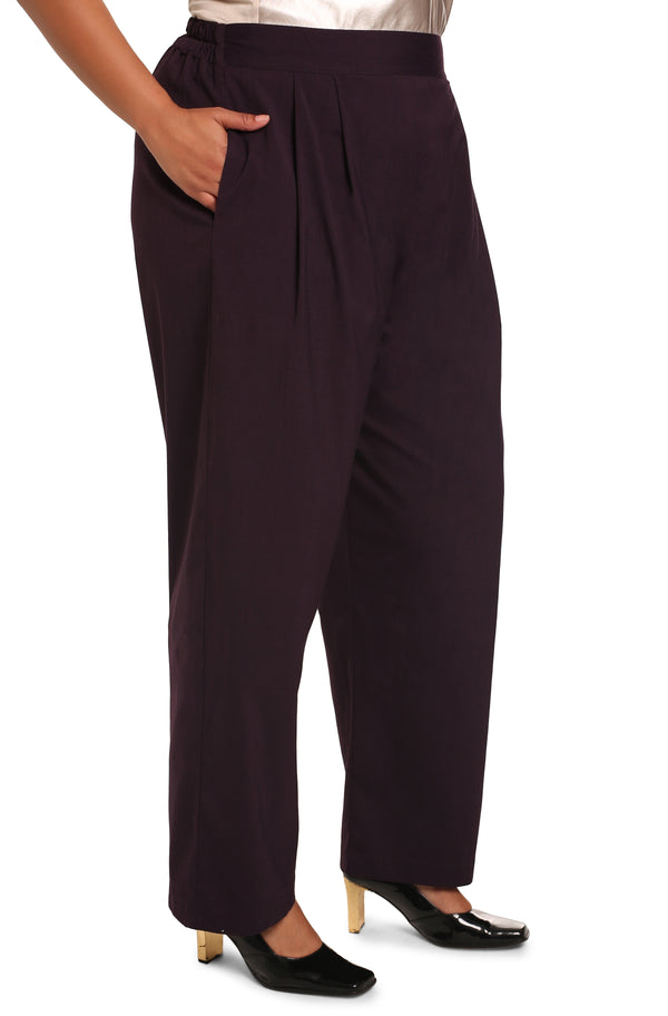 Buy plus-size pants online: Lucia Pull-On Palazzo Pants