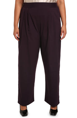 Plus-size Lucia pants: Lucia Pull-on Palazzo Pants