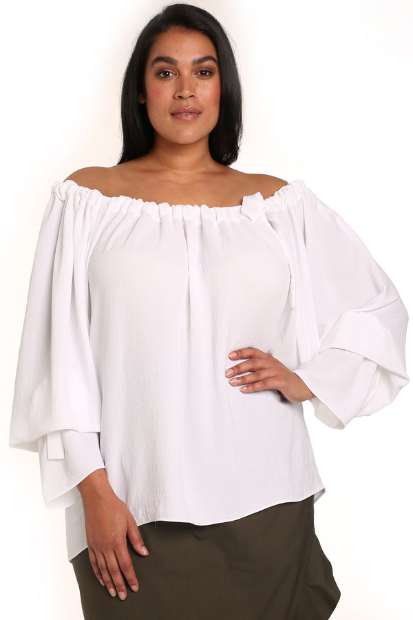 Plus-size boho top: Marta Boho Top