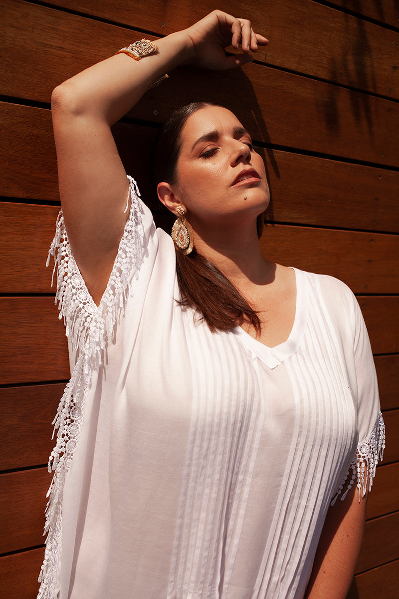 CHARLI SUMMER KAFTAN FOR CURVY WOMEN