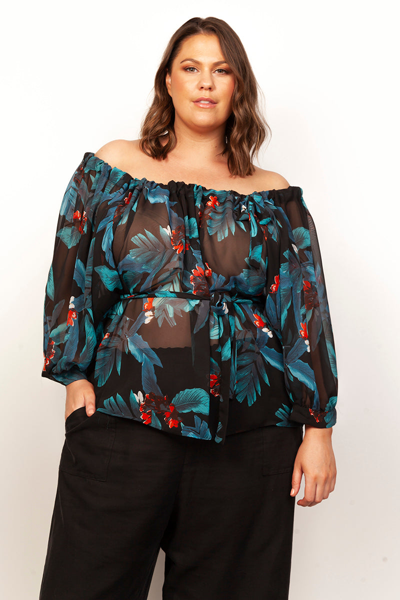 MABEL BOHO TOP FOR CURVY WOMEN