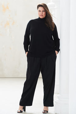 SELMA PULL-ON PALAZZO PANTS FOR CURVY WOMEN