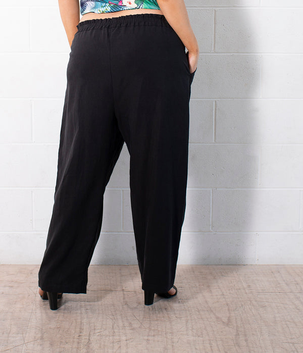 TASHA - PULL ON PANTS FOR CURVY WOMEN