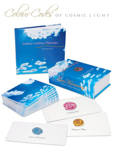 GenHarmony Cards And Colour Cotton Therapy Book Set For Body Healing