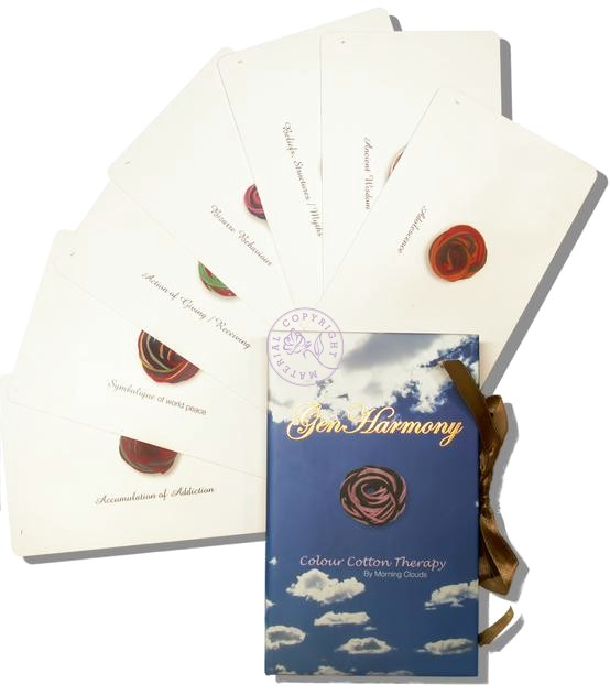 GenHarmony Cards Living Threads Metaphysical cards provide insight to create optimum health, harmony and happiness.