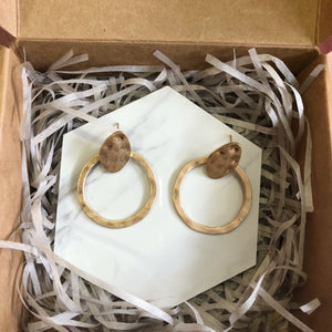 India Hoop Earrings
