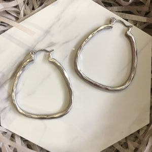 Charlotte Earrings (Silver)