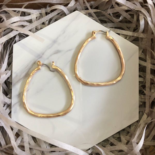 Charlotte Earrings (Gold)