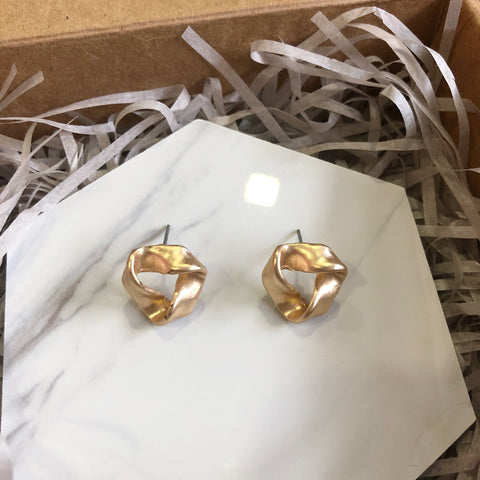 Que Sera Earrings (Gold)