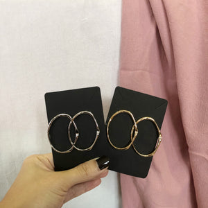 Yolanda Hoop Earrings (Gold)