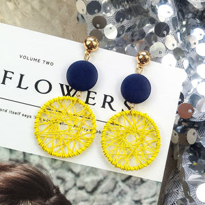 Olivia Wheel Earrings