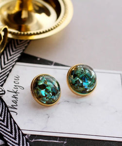 Rhine Earrings (Green)