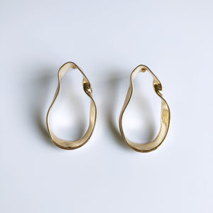Eos Twisty Earrings (Gold)