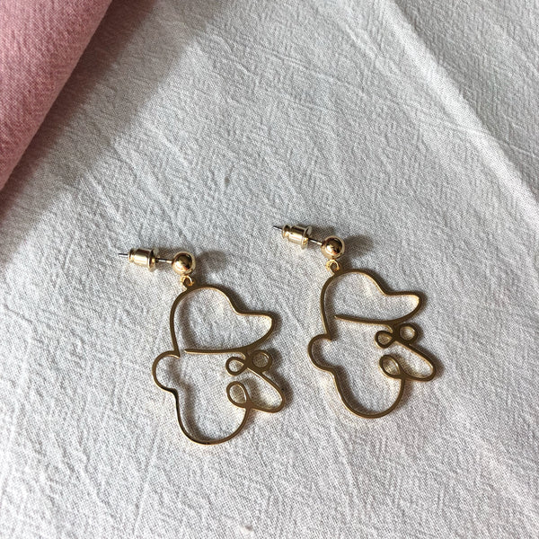 Blair Face Earrings