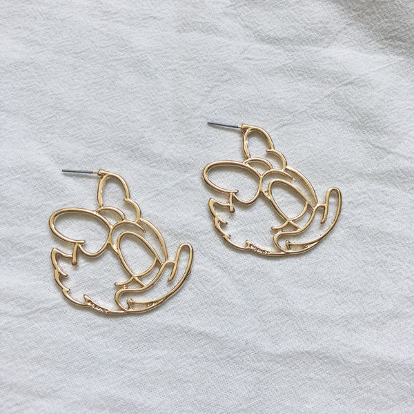 Daisy Duck Earrings